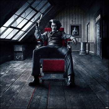 Johnny Depp Sweeney Todd Tim Burton