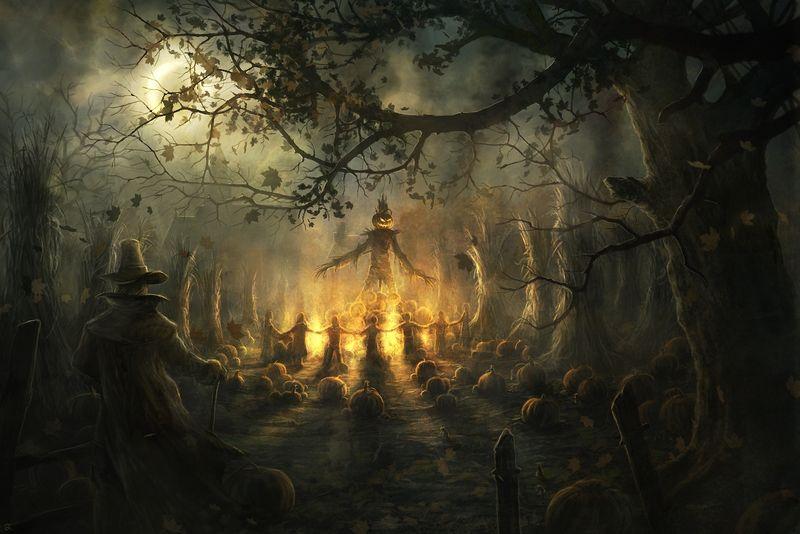 The_Pumpkin_King_by_Radojavor