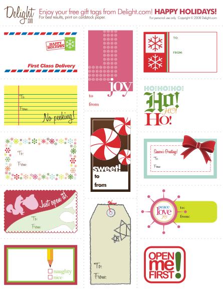 Messyart cute printable xmas tag round up part 2 pronofoot35fo Images